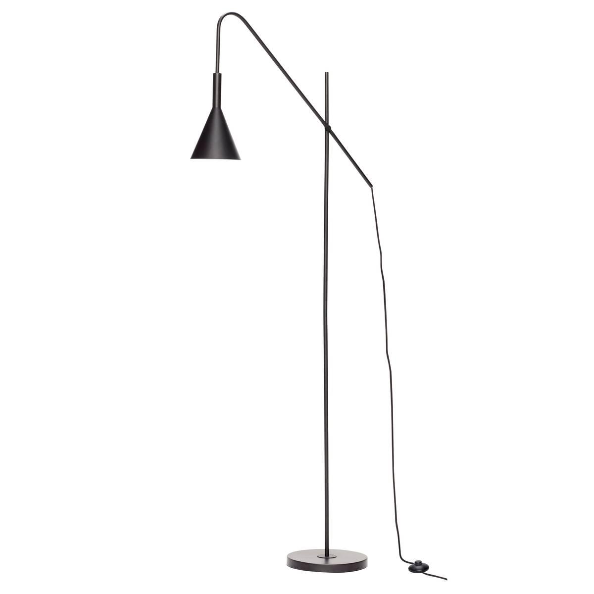 Gulvlampe i sort metall - Hübsch